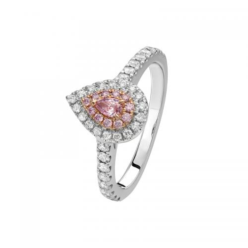 Kimberley Perrima Argyle Pink & White Diamond Ring