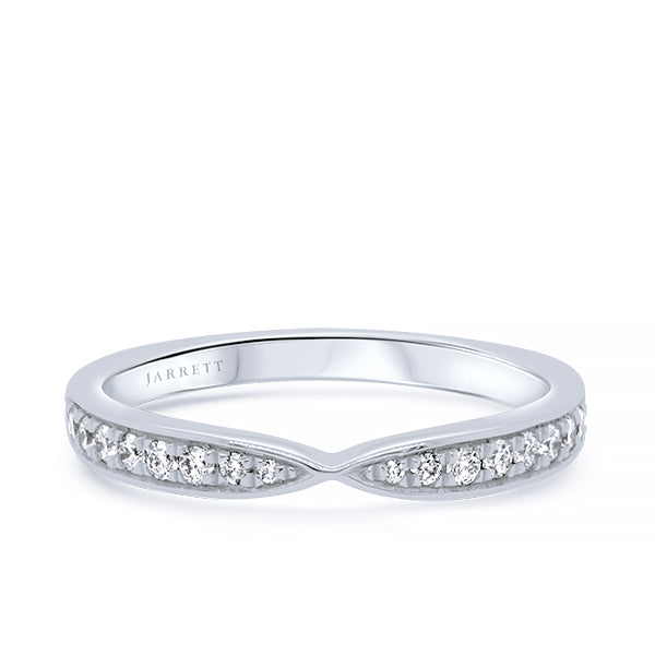 18ct 18-Diamond Pinch-Pave Band