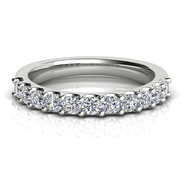 18ct Claw-set 0.75ct Diamond Band