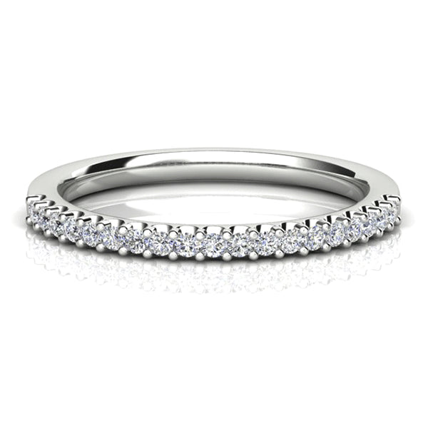 18ct 19 Diamond 0.20ct Tiger-Claw Band