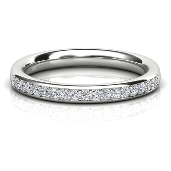 18ct Pave-Set 0.20ct Diamond Band