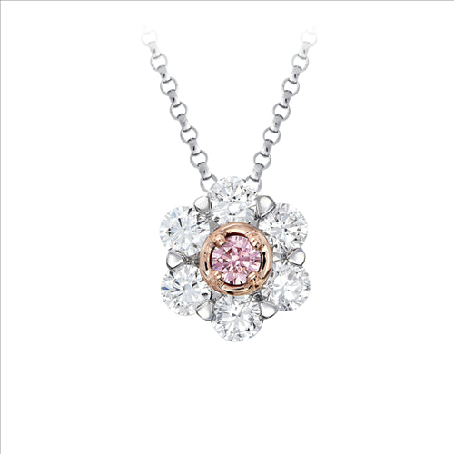 Pink Kimberley Pink Diamond Slider Necklace