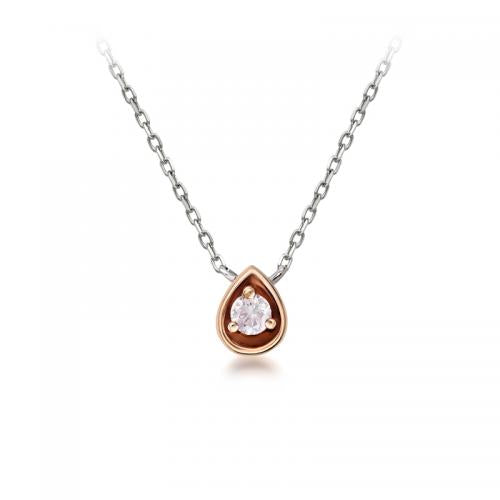 Blush Amelie Argyle Pink Diamond Pendant