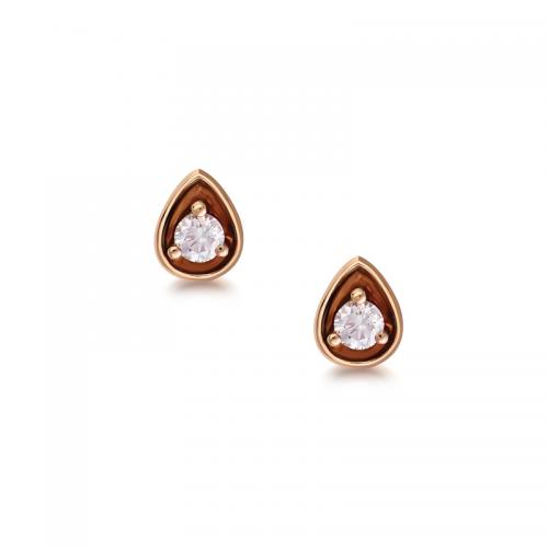 Blush Amelie Argyle Pink Diamond Earrings