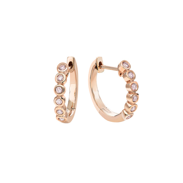 Kimberley Birgitte Argyle Pink Diamond Hoop Earrings