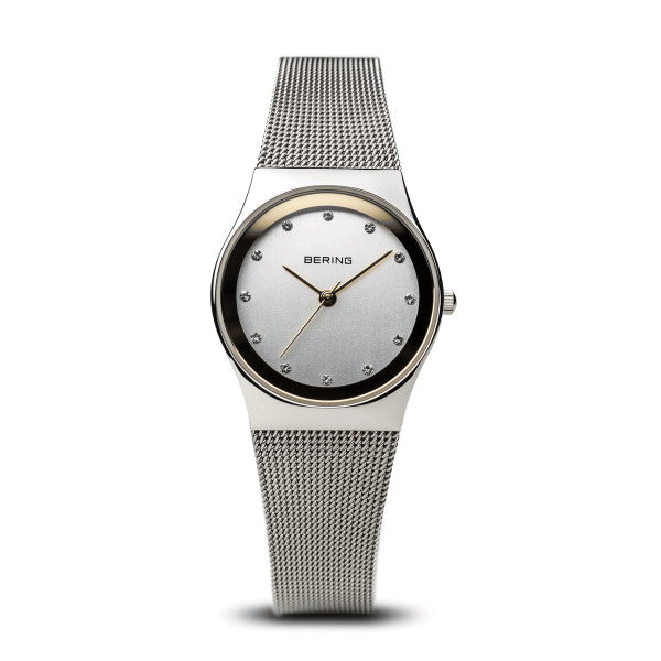 BERING 27mm Classic Silver/Gold Watch