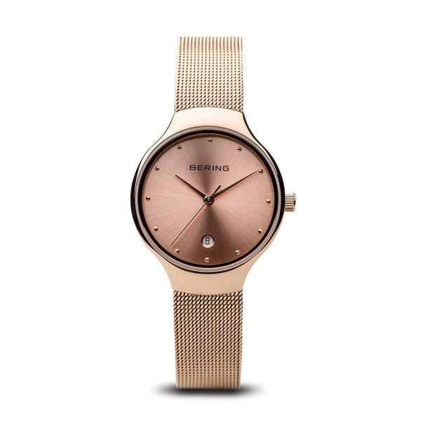 BERING 26mm Classic Rose Gold Watch