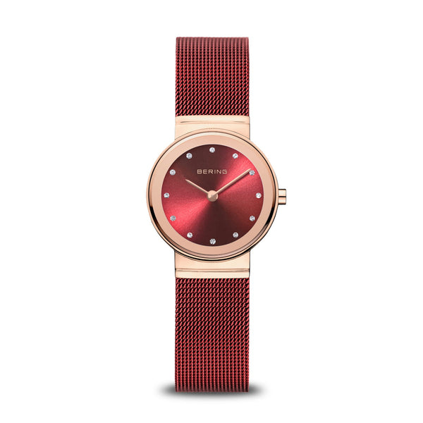 BERING 26mm Classic Rose/Red Watch