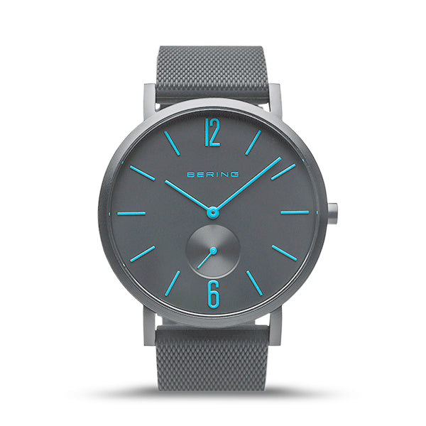 BERING 40mm True Aurora Matt Black Watch