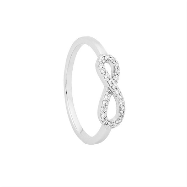 GEORGINI Petite Infinity Ring (Medium)