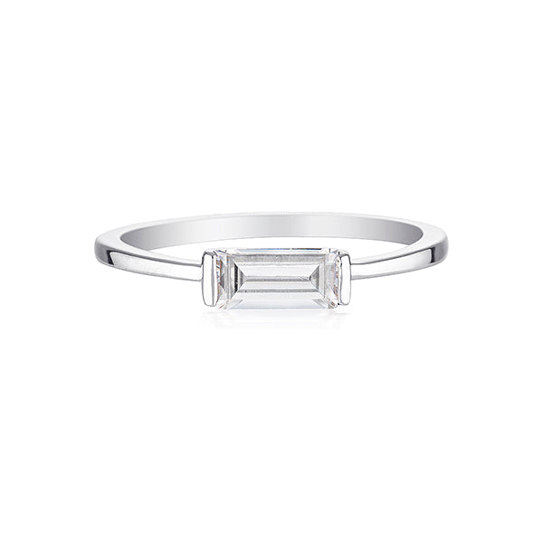 GEORGINI Ada Baguette Ring