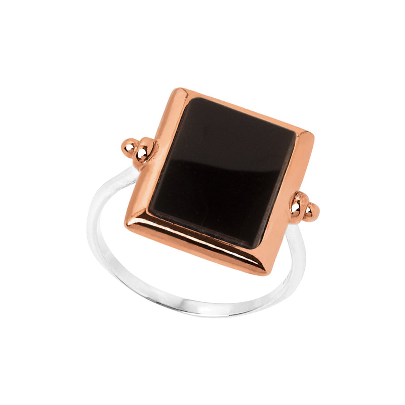 Najo Josephine Black Onyx Ring