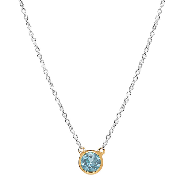 NAJO Renown Necklace Blue Topaz