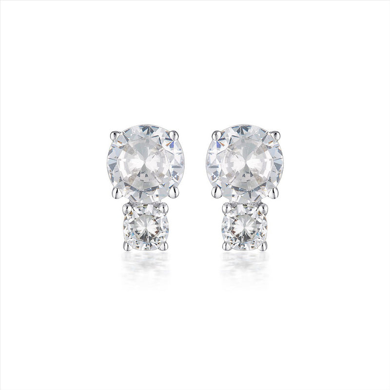 GEORGINI Duo Stud Earring