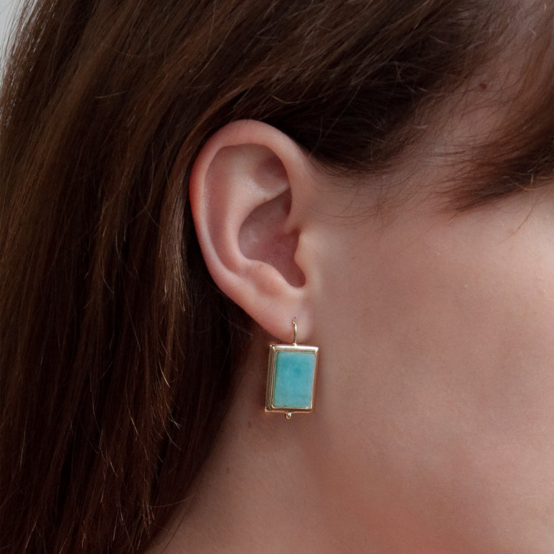 Najo Josephine Amazonite Earrings