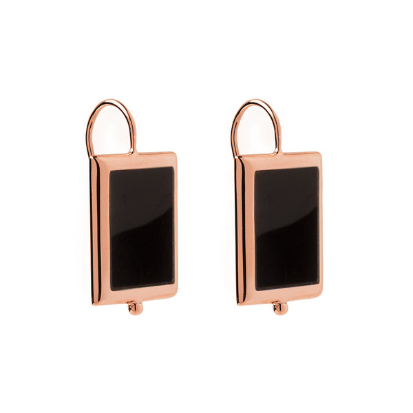 Najo Josephine Black Onyx Earrings