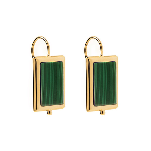 Najo Josephine Malachite Earrings