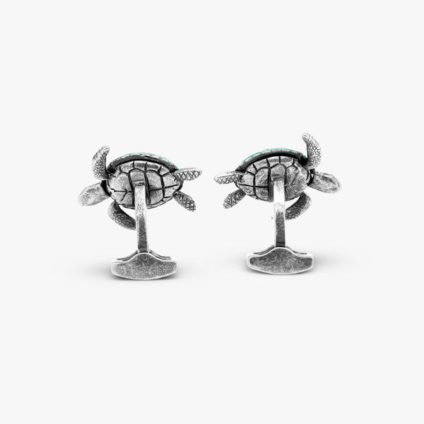 Tateossian Mechanical Turtle Cufflinks