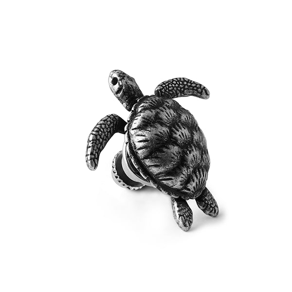 Tateossian Mechanical Turtle Lapel Pin