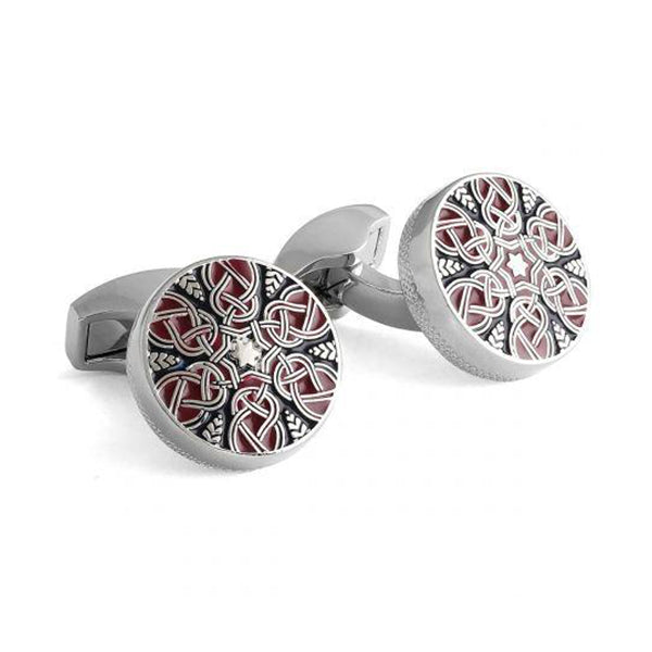 Tateossian Star Weave Cufflinks