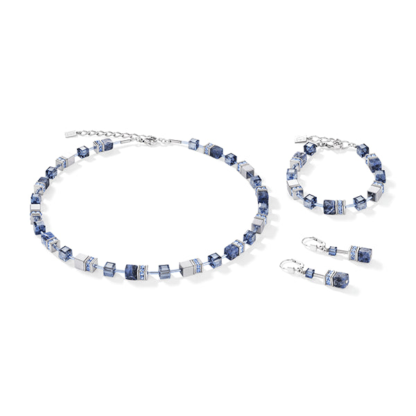 COEUR DE LION Natural Sodalite GEOCube® Necklace