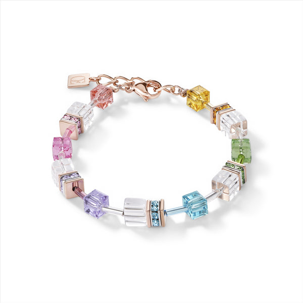 COEUR DE LION Multi-coloured GEOCube® Bracelet