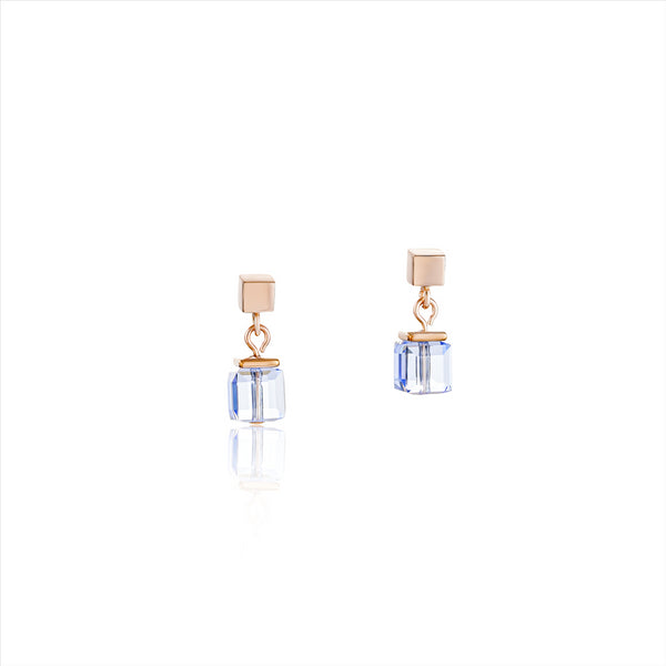 COEUR DE LION Monochrome Blue GEOCube® Earrings