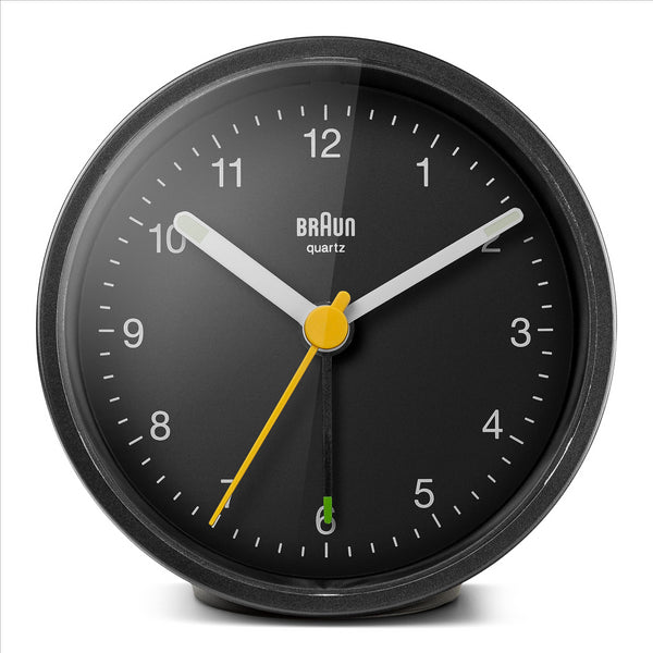 BRAUN Classic Black Travel Alarm Clock