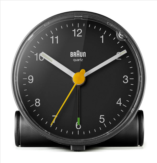 BRAUN Classic Analogue Black Alarm Clock