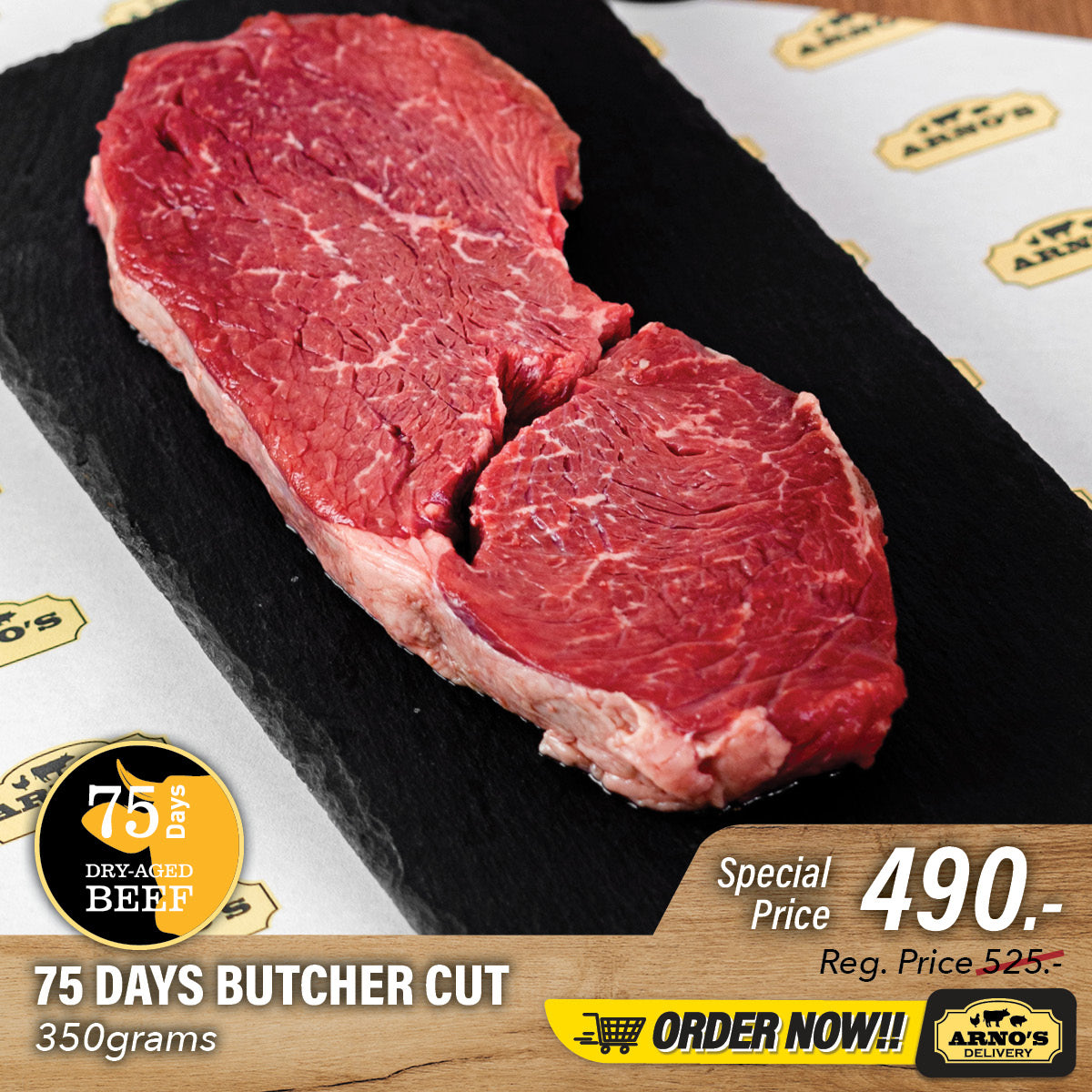 Butcher Cut | 75 Days Dry Aged Beef