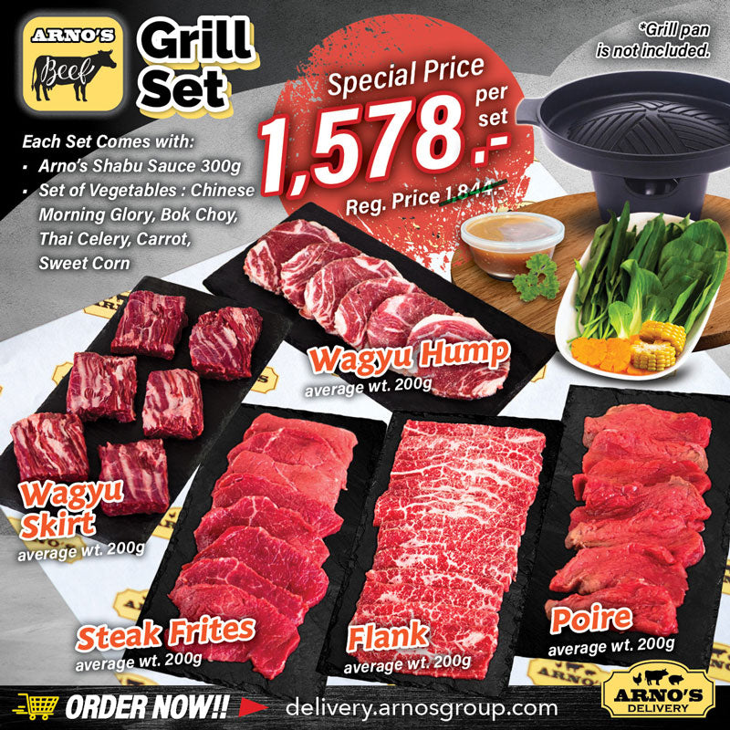 Arno's Beef Special Combo - Grill Set