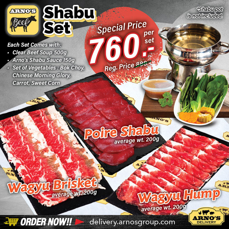 Arno's Beef Special Combo - Shabu Set