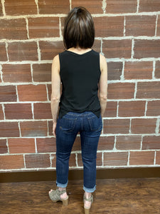Amy Capri with Cuffed Bottom