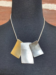 Tri-Metal Necklace