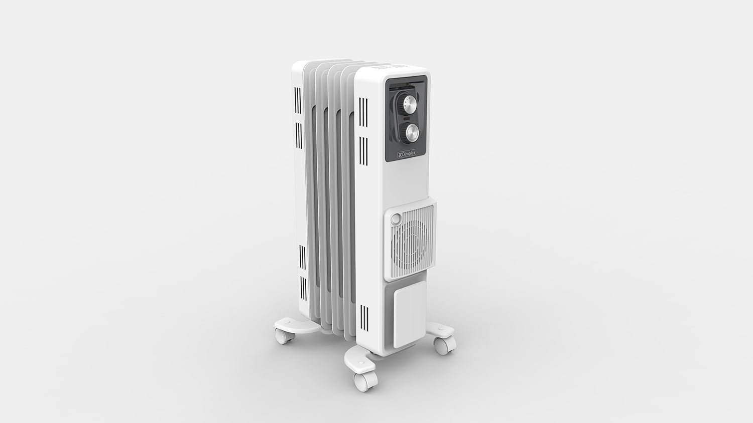 1.5kW Oil Column Heater with Turbo Fan