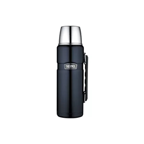 Thermos SK2010MBAUS 1.2L Stainless King Stainless Steel Vacuum Insulated Flask ? Midnight Blue