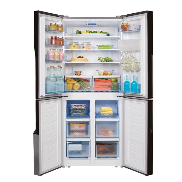Hisense HR6CDFF509SW 509L French Door Fridge