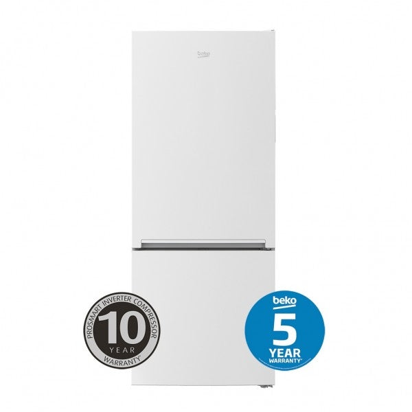 BEKO BBM450W 450L Bottom Mount Fridge/Freezer