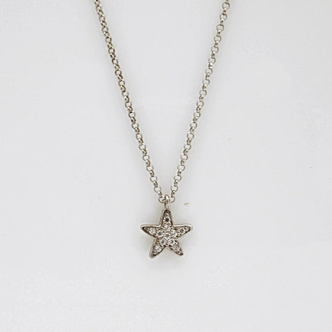 Nomination GIOIE Collection Silver CZ Star Necklace