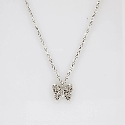 Nomination GIOIE Collection Silver CZ Butterfly Necklace