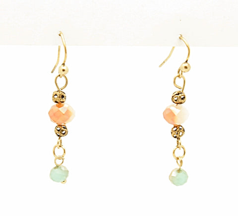 Fashion Drop Bead Earrings
