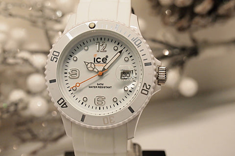 Ice-Watch Sili Collection White Silicone Unisex Watch SIWEUS09