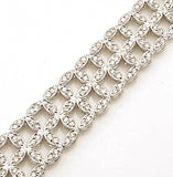 18k White Gold 2.00 tcw Diamond Bracelet