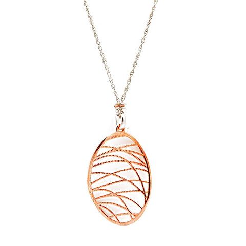 Nomination Sabrina Pink Vermeil Sterling Silver Pendant Necklace