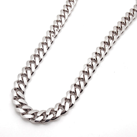 Sterling Silver Handmade Miami Cuban Link Chain