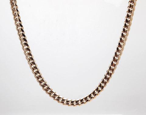 "14k 24"" Miami Cuban Link Chain"