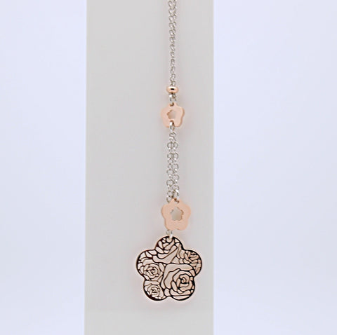 Nomination ROSA Collection Filigree Pendant  Necklace