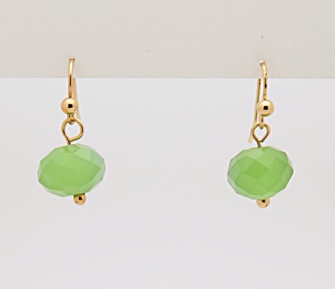 Fashion Bead Drop Earrings