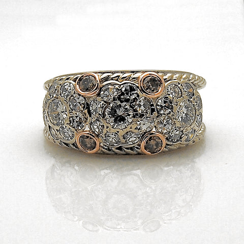 Estate 14k Diamond Ring