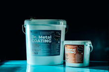 Load image into Gallery viewer, Dr. Metal Antibacterial Epoxy Coating Small Kit (Clear, 4.4 Oz)